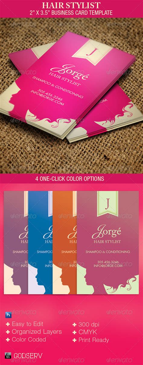 Check spelling or type a new query. Hair Stylist Business Card Template by Godserv   GraphicRiver