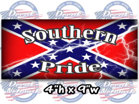 rebel flag redneck decal sticker confederate flag southern