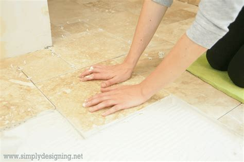 simply put tile master bathroom remodel part 7 how to install radiant