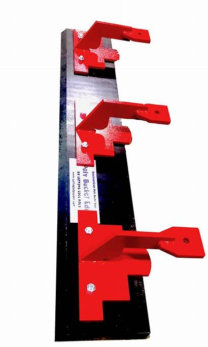 Bucket Edge Poly Edges Clamp Cutting Replacement