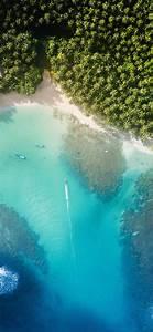 nu19 sea summer nature earthview wallpaper