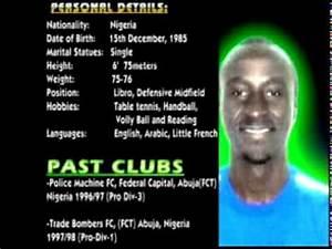 Football Player Cv Template Daniel Arin Azi Football Cv Youtube