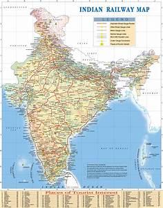 India Railway Map