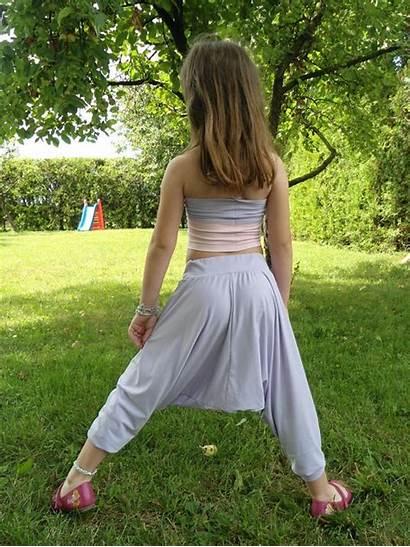 Pants Yoga Harem Preteen Little Cute Models