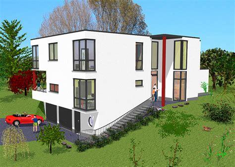 Haus Im Bauhausstil Bauen Mit Gsehaus In Raunheim