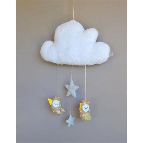 mobile chambre enfant mobile fait avec des oiseaux suspendus 224 un nuage