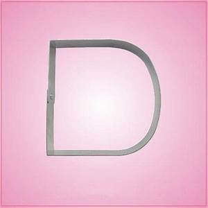 big letter d cookie cutter cheap cookie cutters With letter d cookie cutter