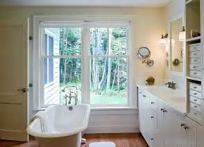 bathroom designs with clawfoot tubs farmhouse style interiors ideas inspirations