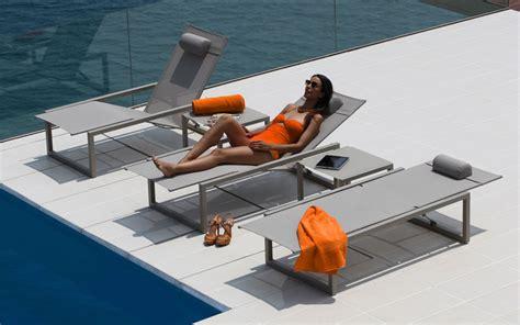 bain de soleil et transat design terrasse et demeureterrasse et demeure