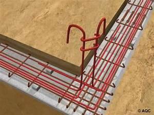 fondations de maison individuelle 6 armaturesm2v youtube With prix dalle beton maison