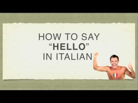 """How To Say """"hello"""" In Italian  Ciao  Youtube. Symptoms Of Children With Add. Female Hair Replacement Is Cheapoair Reliable. West Virginia Workers Compensation. Seminary Schools In Texas Top Houston Lawyers. Credit Score Needed For Va Loan. Building An Ecommerce Website. Atlanta Private Investigator. How To Add Subtitles In A Video"""