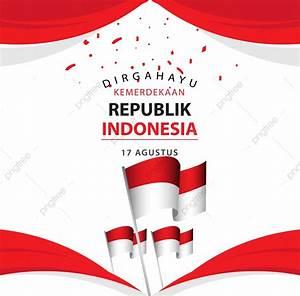 Dirgahayu, Kemerdekaan, Republik, Indonesia, Poster, Vector