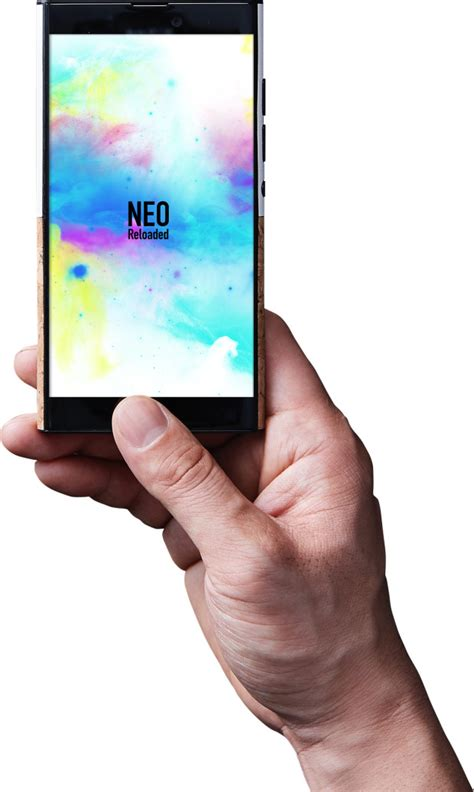 nuans neo reloaded is an android 7 1 nougat smartphone