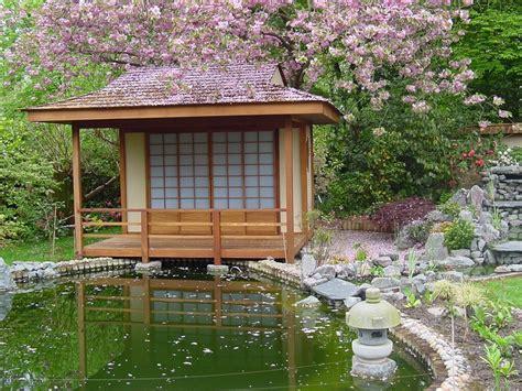tea houses japanese tea house in hardwood build a japanese garden uk