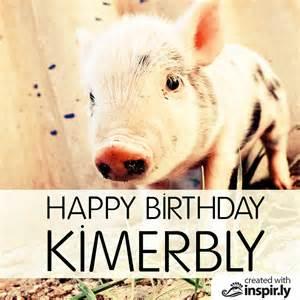 Pig Happy Birthday Quotes