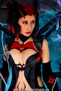 Elise Cosplay. League of Legends. by Morganita86 on DeviantArt