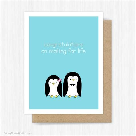 Wedding Congratulations Card For Bride And Groom Couple