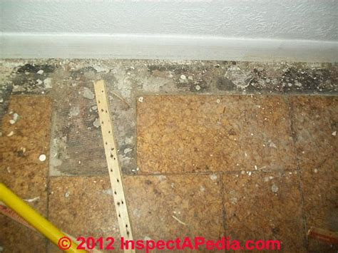 how to reduce the hazard floor tiles that may contain asbestos