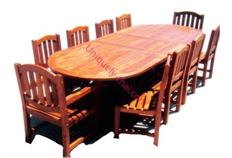 teak wood extention table foot