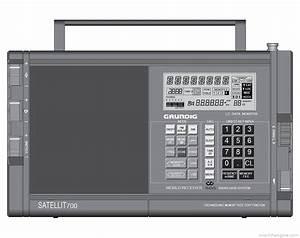 Grundig Satellit 700 - Manual - World Receiver