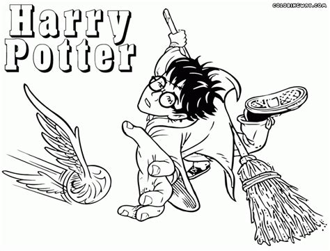 Get This Harry Potter Coloring Pages to Print Out 31765