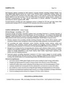 Free Summary Statements For Resumes by Resume Exle 47 Professional Summary Exles