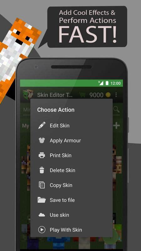 skin editor tool  minecraft  android apk baixar