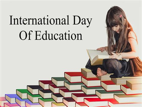 celebrate international day  education  january