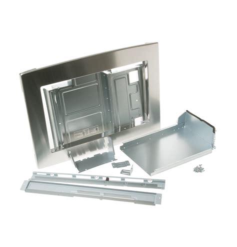 jxsmss microwave optional  built  trim kit ge appliances parts