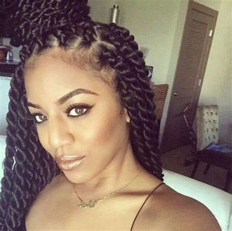 Rope Twist Hairstyles by Big Twist Hairstyles Hairstyles By Unixcode