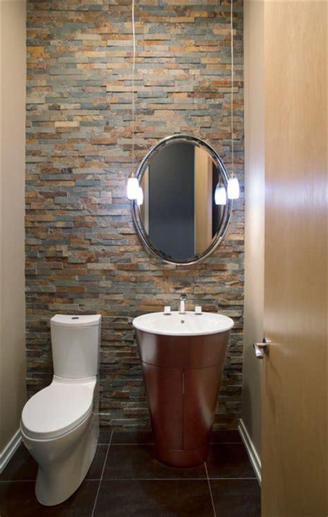 modern color modern powder room  metro