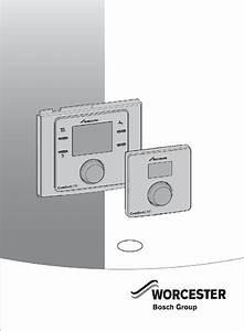 Worcester Greenstar Comfort I Rf Thermostat Installation