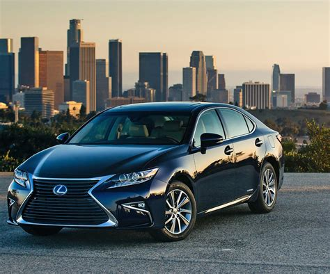 lexus es hybrid and v6 modifications received new styling