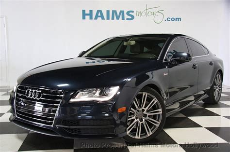 Used Audi by 2012 Used Audi A7 4dr Hatchback Quattro 3 0 Prestige At