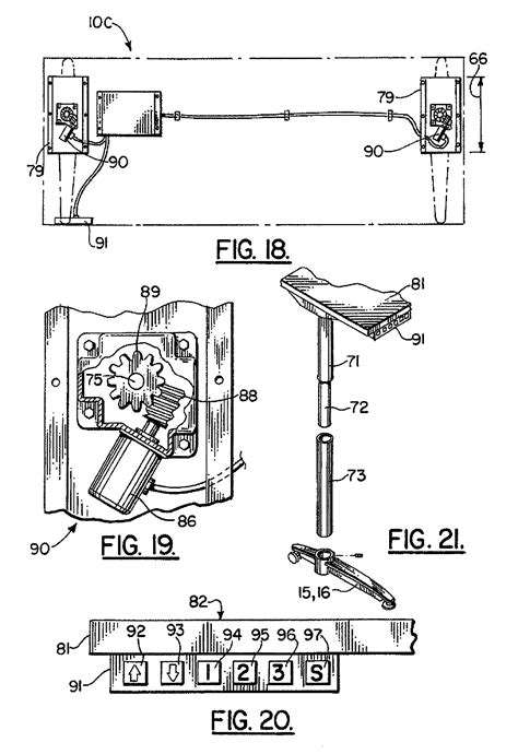 patent us7908981 height adjustable table google patents