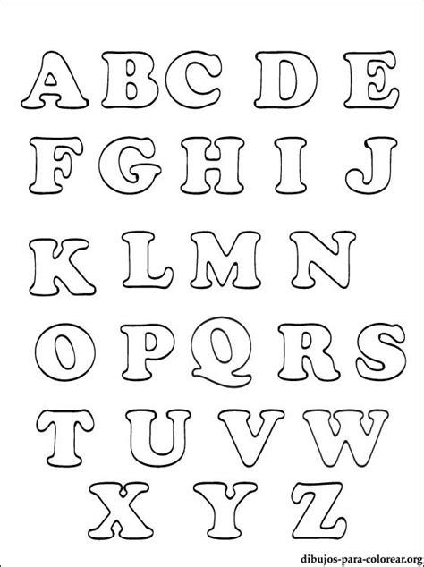 alfabeto abecedario  abece  colorear dibujos  colorear