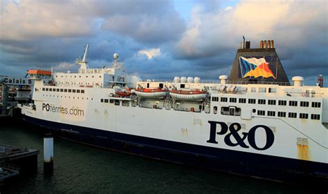 Ferry Zeebrugge Dover by P O Ferries Sees Record Zeebrugge Tilbury Volumes