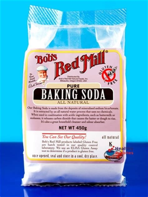 is baking soda gluten free baking soda pure bicarbonate of soda 450g bob s red mill healthysupplies co uk buy online