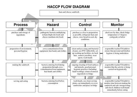 haccp cuisine haccp flow chart food forum focus on haccp ratelco com
