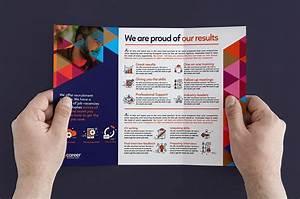 Word Template Brochure Tri Fold 25 Recruitment Brochure Examples Job Fair Employment