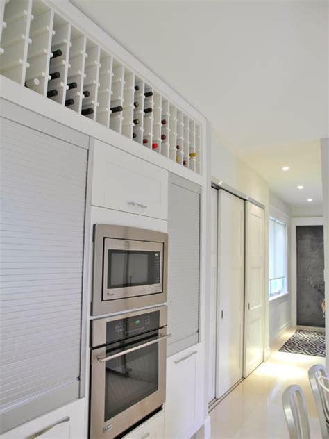 wine rack modern kitchen miami  bdesign