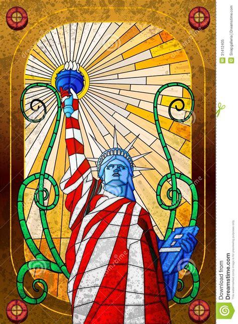statue  liberty stock vector image  patriotism