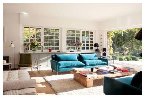 canapé interiors salon avec canapé turquoise deco pictures