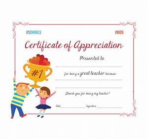 sample thank you certificate template 10 documents With certificate of thanks template