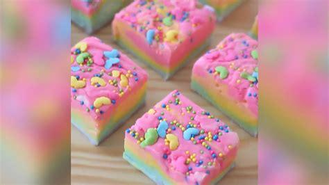Einfaches Rezept Fuer Regenbogen Eis by Regenbogen Kuchen Ohne Backen Rezept Dessert Kuchen