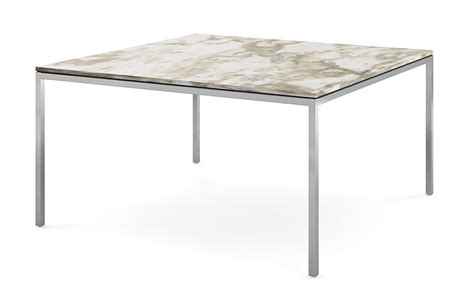 table florence knoll florence knoll square dining table hivemodern