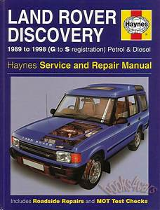 Shop Manual Discovery Service Repair Land Rover Book