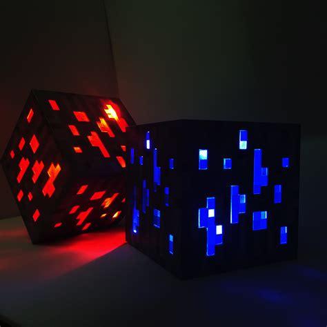 led light up presents ᗕ2017 new minecraft light up up led toys redstone ore