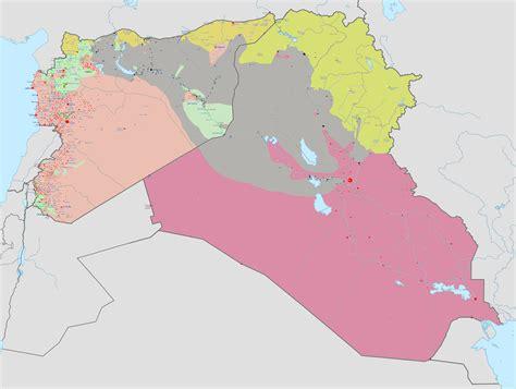 Syrien Karte Frontverlauf 2016