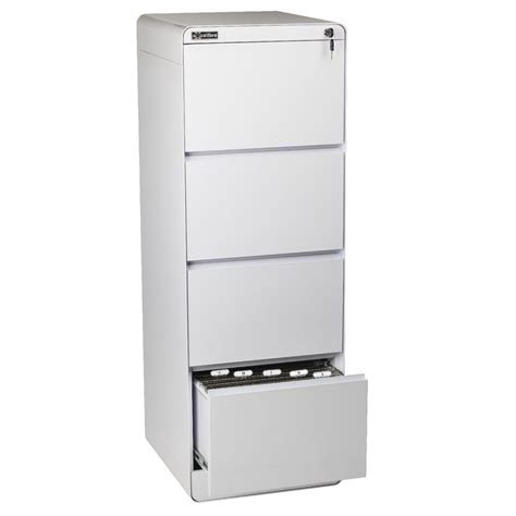 white file cabinet excalibre 4 drawer filing cabinet white ebay